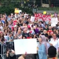 """THIS IS FASCISM!"" Linda Sarsour Comes Unhinged at NY Protest Over SCOTUS Ruling to Uphold Trump's Travel Ban (VIDEO)"
