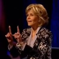 Jane Fonda Tells Hollywood Elitists It's Time To Take Back 'Our Government'