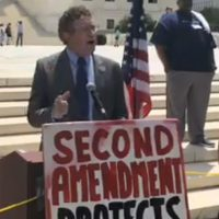 Gun Rights Activists Storm D.C. To Celebrate Ten Year Anniversary Of Heller Decision with Rep. Thomas Massie