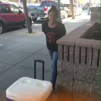 VIDEO: Woman calls police over 8-year-old selling bottled water on SF sidewalk 'without permit'