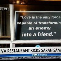 "President Trump Unloads on ""Dirty"" Red Hen Restaurant That Tossed Sarah Sanders and Her Family"