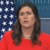 Sarah Sanders Shuts Down Combative April Ryan Of CNN: 'Stop Talking' (VIDEO)
