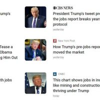 WATCH: MSM criticizes Trump for teasing great job numbers; 'Forgets' Obama did it repeatedly