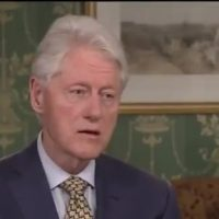 WHAT'S WRONG WITH BILL? Clinton appears listless, chews on tongue during TV interview