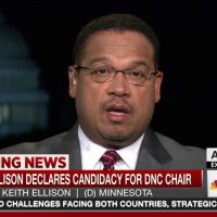 Keith Ellison Sweats, Melts Down Over Farrakhan Lies