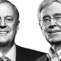 Koch Brothers' Americans for Prosperity Spending Millions to Fight Trump