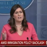 WATCH=> Sarah Huckabee Sanders LAUNCHES TRUTH BOMB on Laura Bush's Family Separation Comments