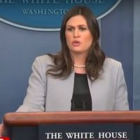 Sarah Sanders Given Secret Service Detail at Home Amid Fear of Leftist Violence