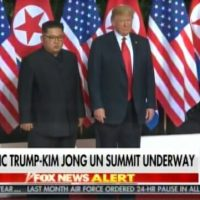 HISTORY! President Donald Trump Meets Kim Jong Un at Singapore Summit (VIDEO)