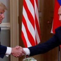 President Trump to Vladimir Putin: 'The World Wants to See Us Get Along'