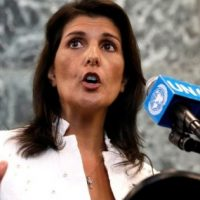 Nikki Haley Goes To War At The UN: 'Every Day I Feel Like I Put Body Armor On'