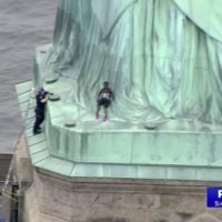 """Abolish ICE"" Protester Who Created 4-Hour Standoff After Climbing Statue of Liberty is Immigrant From Congo"
