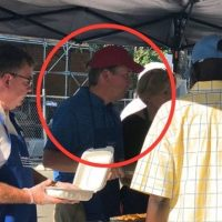 Hours After Being Nominated To SCOTUS, Judge Kavanaugh Caught On Camera… Feeding Homeless People
