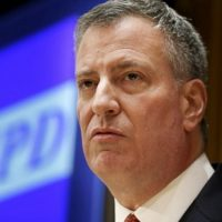 Border Protection Claims Bill De Blasio Crossed US-Mexico Border Illegally
