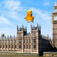 Muslim Mayor of London Sadiq Khan Approves 'Angry Baby' Trump Blimp During the President's UK Visit