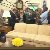 "White House Aide Shouts Down Jim Acosta For Screaming Questions About ""Collusion"" at POTUS Trump – 'We're Done, Jim!' (VIDEO)"