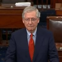 LOL! Mitch McConnell Can't Keep Straight Face While Noting Democrat Hypocrisy On SCOTUS Picks (VIDEO)