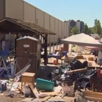 Portland Police Clear 'Biohazard' Occupy ICE Encampment (VIDEO)