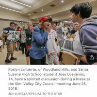 Nancy Sinatra, Debra Messing, Toure, Soledad O'Brien, David Hogg Among Twitter Lynch Mob Targeting Trump Supporter #RoslynLaLiberte Over Viral Photo Hoax With Latino Boy