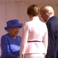"British News Outlet Asks: Did Trump ""Forget"" To Bow To The Queen?"