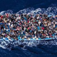 Gratitude: African Migrants Rescued Off the Coast of Libya Threaten to Behead Rescuers