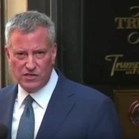 DeBlasio goons haul away reporter because he asked a question