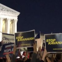 #BREAKING: Leftists Already Organizing to #StopKavanaugh, AstroTurf Signs Appear at SCOTUS