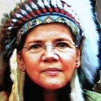 Fake Indian Elizabeth Warren Responds to Trump's DNA Test Challenge