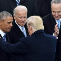 "Hah! POTUS Trump on Joe Biden: ""Obama Took Him Out of Garbage Heap"" (VIDEO)"
