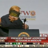 94-Year-Old Veteran STEALS THE SHOW at Trump VFW Speech in Kansas City, Missouri (VIDEO)