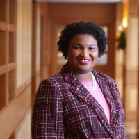 SOCIALIST: GA Democrat Stacey Abrams Joined Socialist Group For Keynote Speech in Atlanta