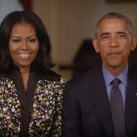 MICHELLE O: Barack and I will be involved in politics 'forever'