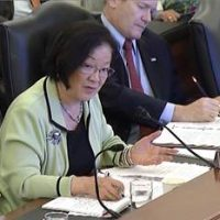 What part of 'illegal' does Sen. Mazie Hirono not understand?