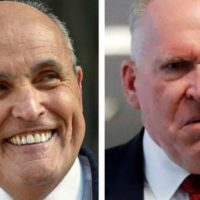 EPIC! RUDY GIULIANI: 'To John Brennan: Trump Granted Our Request to Handle Your Case… Come on John, You're Not a Blowhard?'