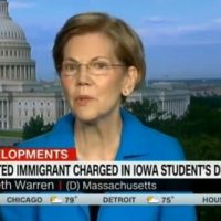 SICK! Elizabeth Warren Laments Illegal Aliens Being Separated From Their Kids When Asked About Murder of Mollie Tibbetts (VIDEO)