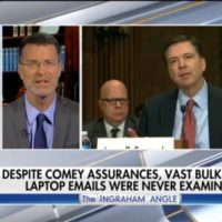 SPERRY: FBI Only Read 3,000 Out of 700,000 Emails Found on Weiner Laptop – Contradicting Comey's Sworn Testimony (VIDEO)