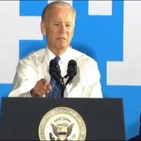Biden urges union boss to show GOP rep 'a threshold of pain'