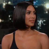 "Kim Kardashian Refuses Kimmel's Bait: ""Nothing Bad To Say About The President"" (VIDEO)"
