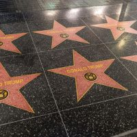 LOL! Dozens Of New Trump Stars Appear On Hollywood Walk Of Fame