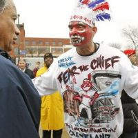 Activist Who Led Campaign Against 'Racist' Mascot Charged With Stealing From Native Americans