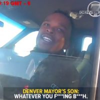 Two Police Officers Suspended After Posting Video of Mayor's Son Hurling Vulgar Threats at Cops (VIDEO)