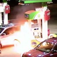Islam Caught Setting Fire to New York Gas Station