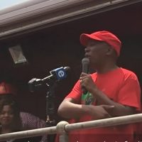 South Africa's EFF Leader Julius Malema Calls For United African Continent – With Common Language Like Swahili (Video)