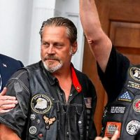 Washington Post Freaks Out After Trump Poses with 'Sexist' Biker