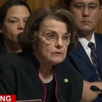 Dianne Feinstein Asked Point Blank About Leaking Ford Letter To Press – Denies It (VIDEO)
