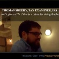 """I Don't Give a Sh*t If That is a Crime""- O'KEEFE STRIKES AGAIN=> Undercover Video Exposes IRS Officials Targeting Conservative Groups"