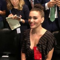 Feinstein Invites Far-Left Actress Alyssa Milano to Ford-Kavanaugh Hearing