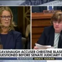 Christine Ford Says She Doesn't Know Who Paid For Her Polygraph Test (VIDEO)