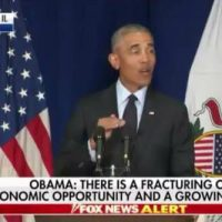 Barack Obama Trashes Trump – Takes Credit For Trump's Booming Economy (VIDEO)