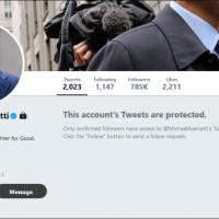 'Creepy porn lawyer' Michael Avenatti hides tweets